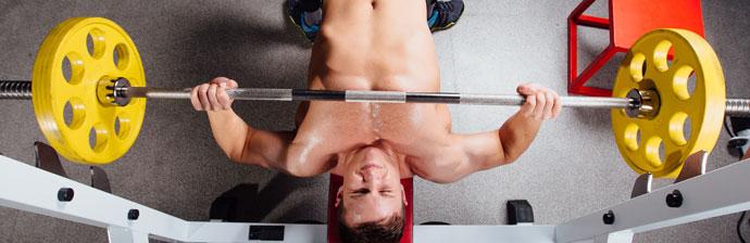 Musculação: Exercício Supino