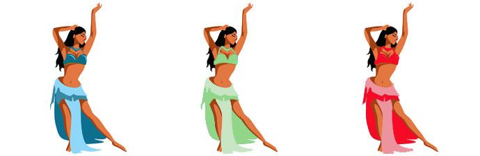 Mulheres: Dança do Ventre
