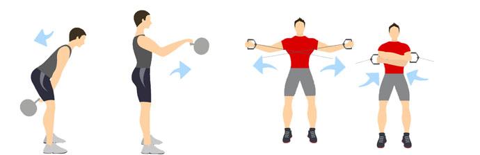 Musculação x Crossfit: Exercícios