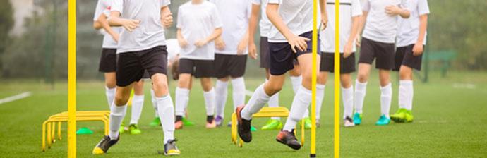 Preparação Física no Futebol: Treino com obstáculos