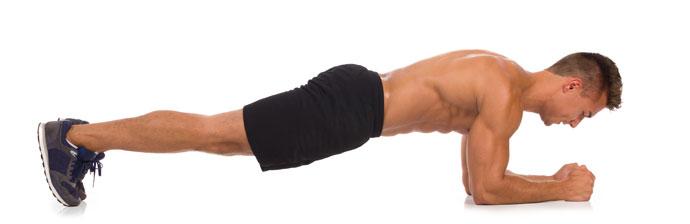 Exercício Abdominal: Prancha