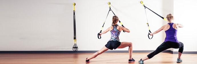 Resistência Muscular com TRX