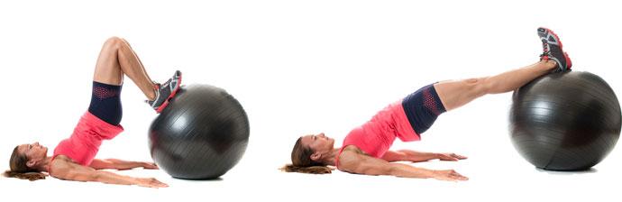 Exercício com Swiss Ball