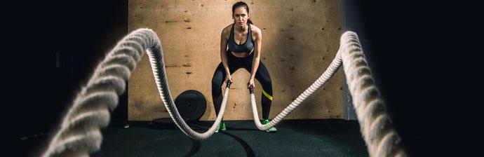 CrossFit: Exercício com Corda Naval