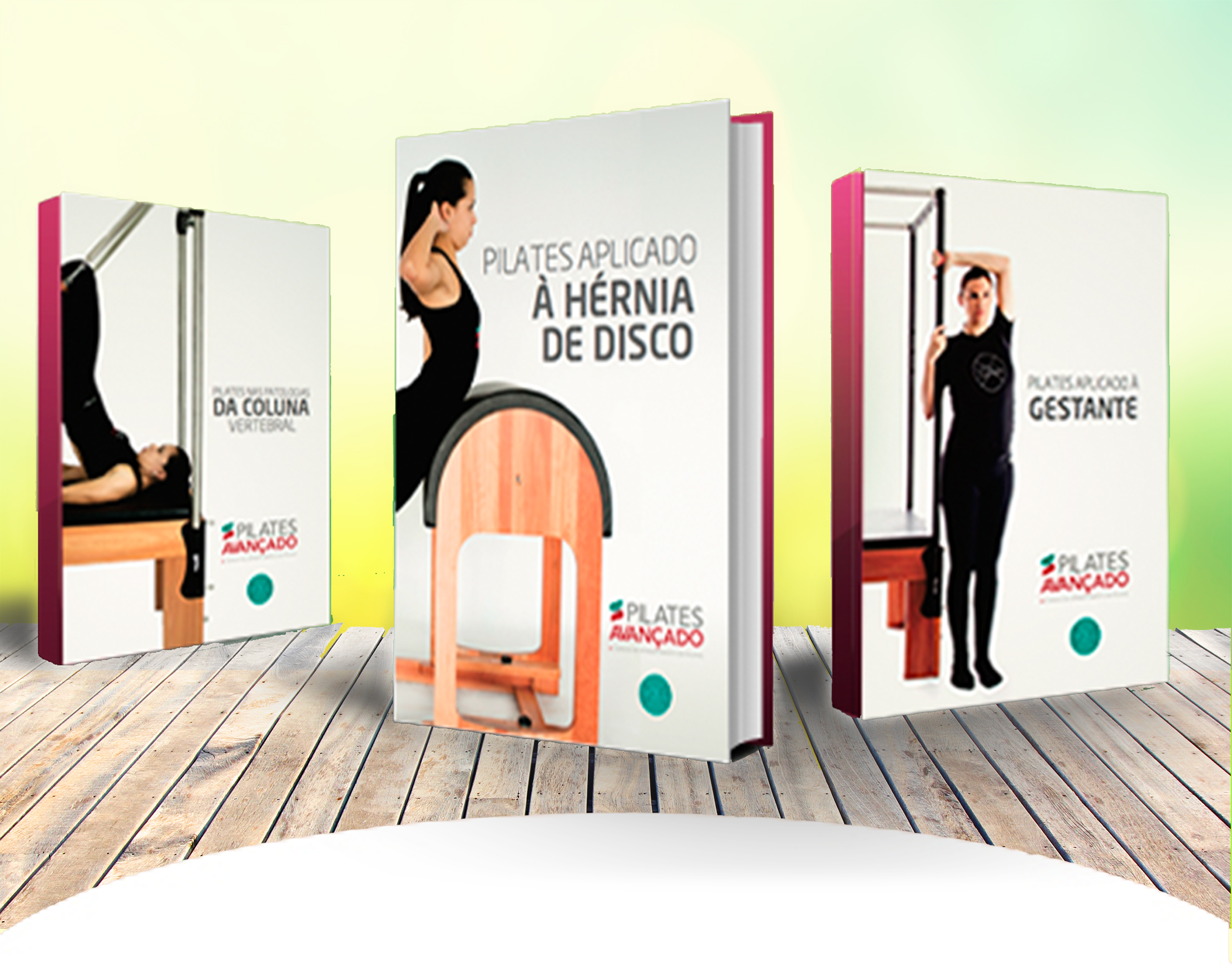 Livro Premium - Coleção Pilates Clínico